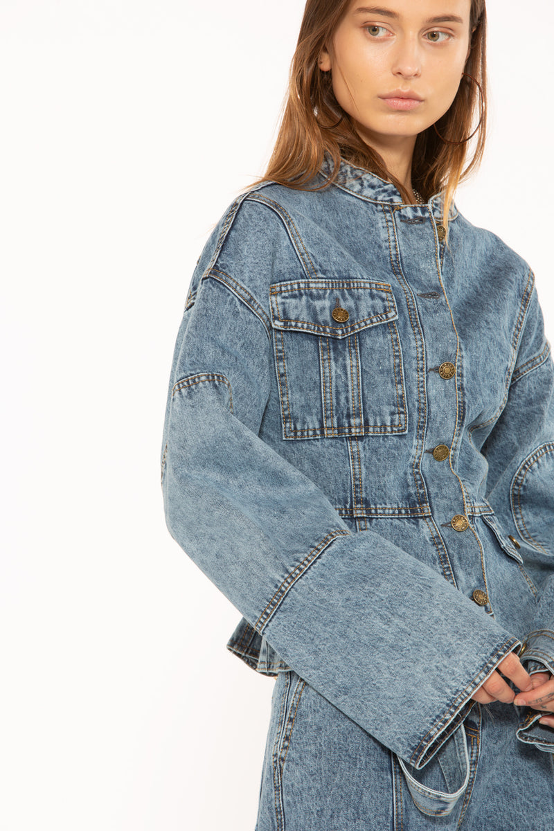 Denim Trucker Set - Shop Beulah Style