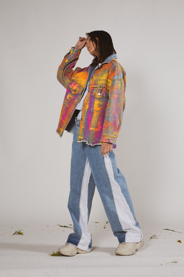 Splashed Painter Jacket - Shop Beulah Style