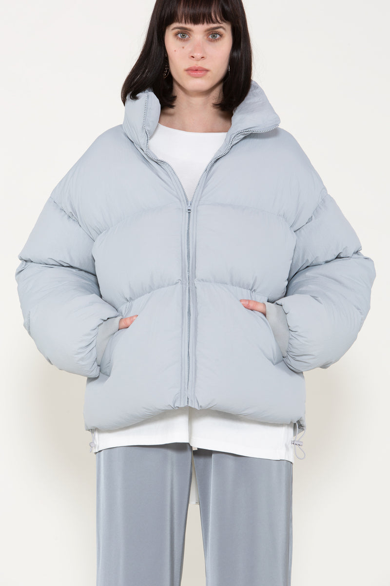 Puffer Jacket with High Collar - Shop Beulah Style
