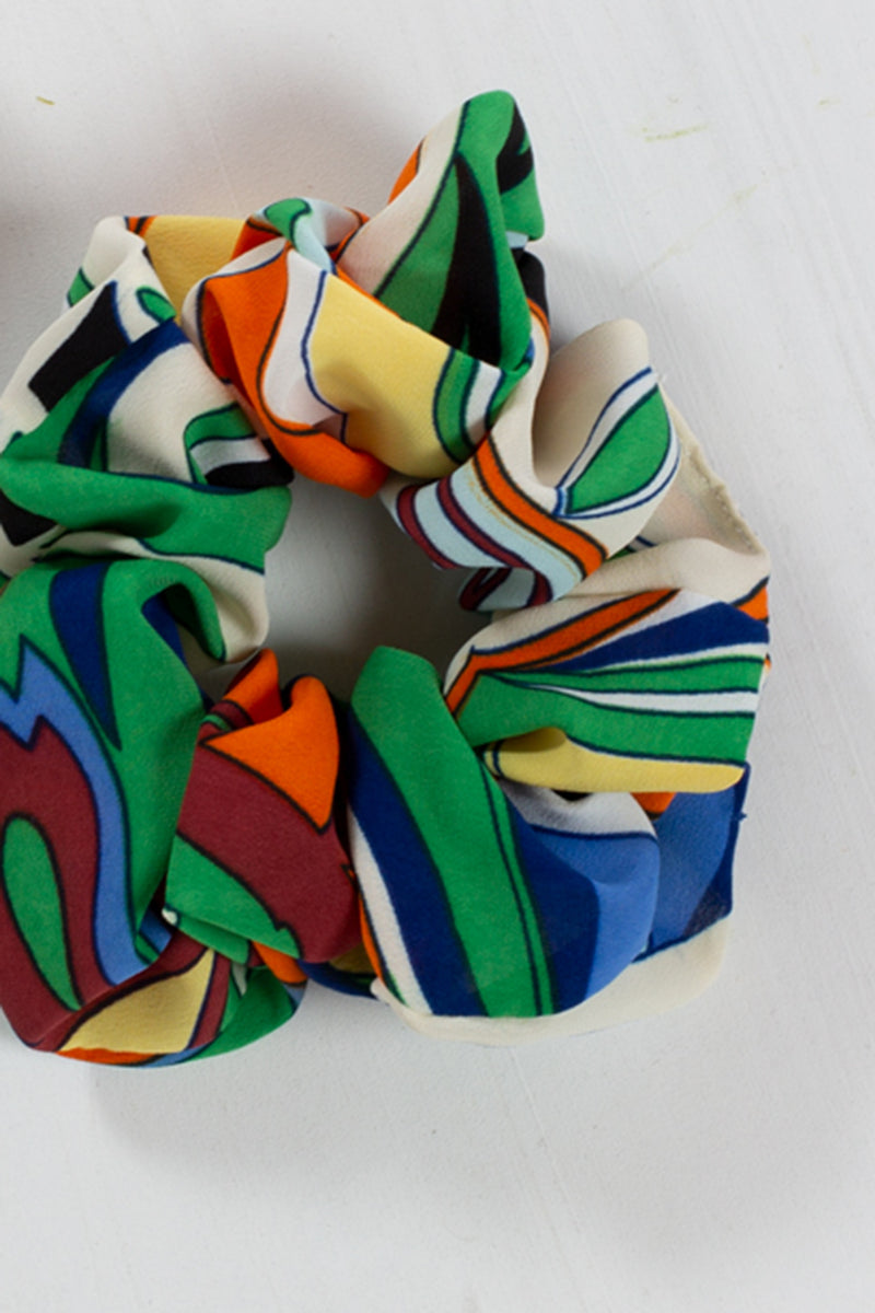 Abstract Multicolor Scrunchie - Shop Beulah Style