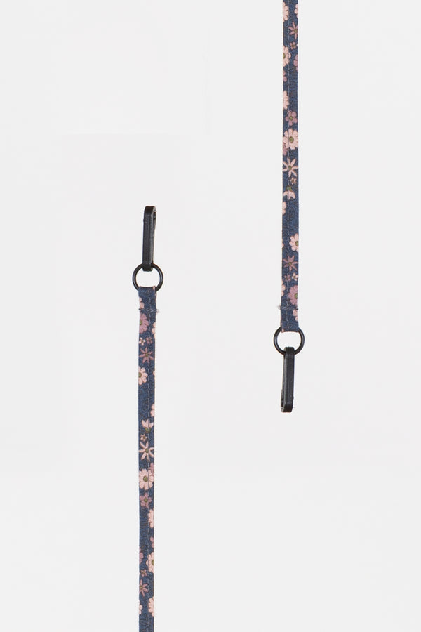 Blue Floral Lanyard - Shop Beulah Style