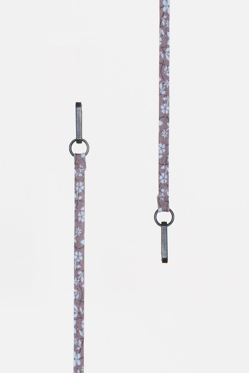 Purple Floral Lanyard - Shop Beulah Style