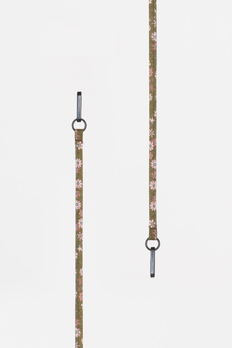 Olive Floral Lanyard - Shop Beulah Style
