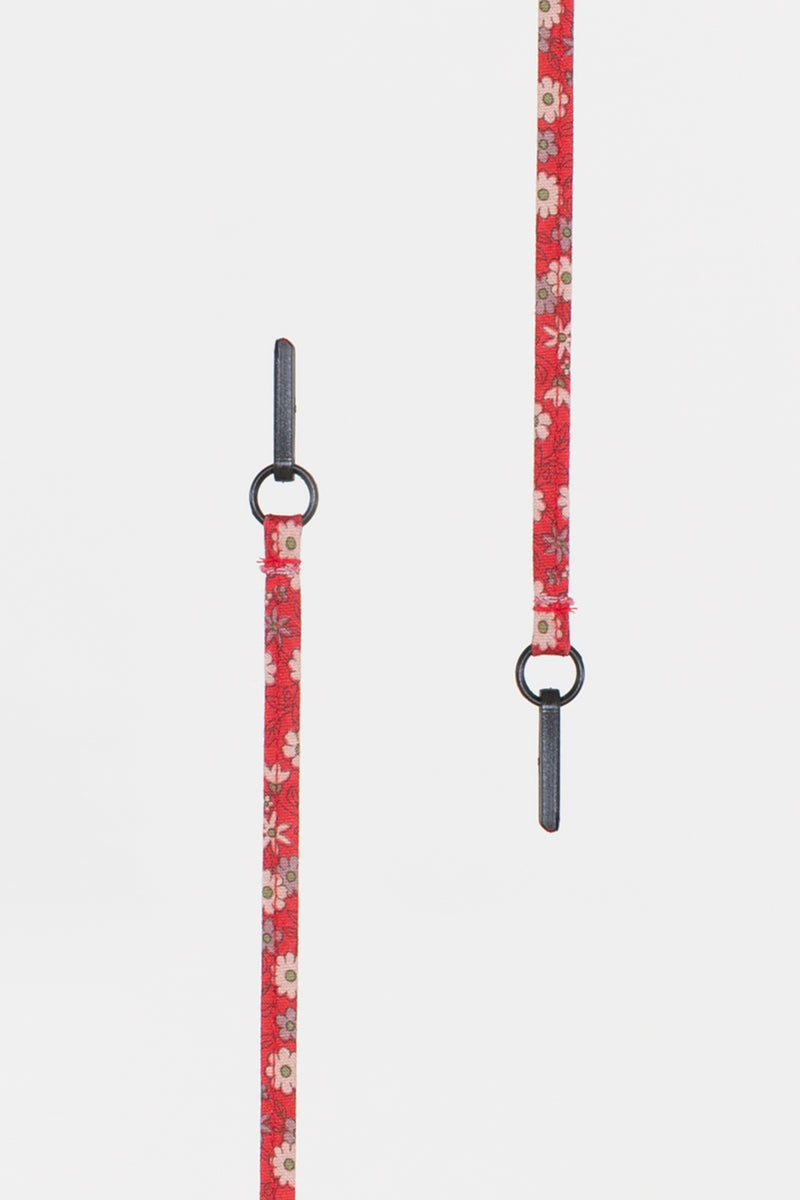 Red Floral Lanyard - Shop Beulah Style