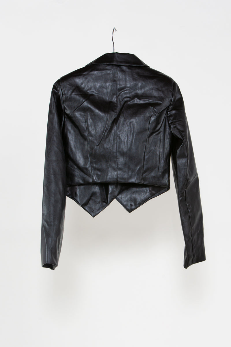 Vegan Leather Jacket and Pants Set - Shop Beulah Style