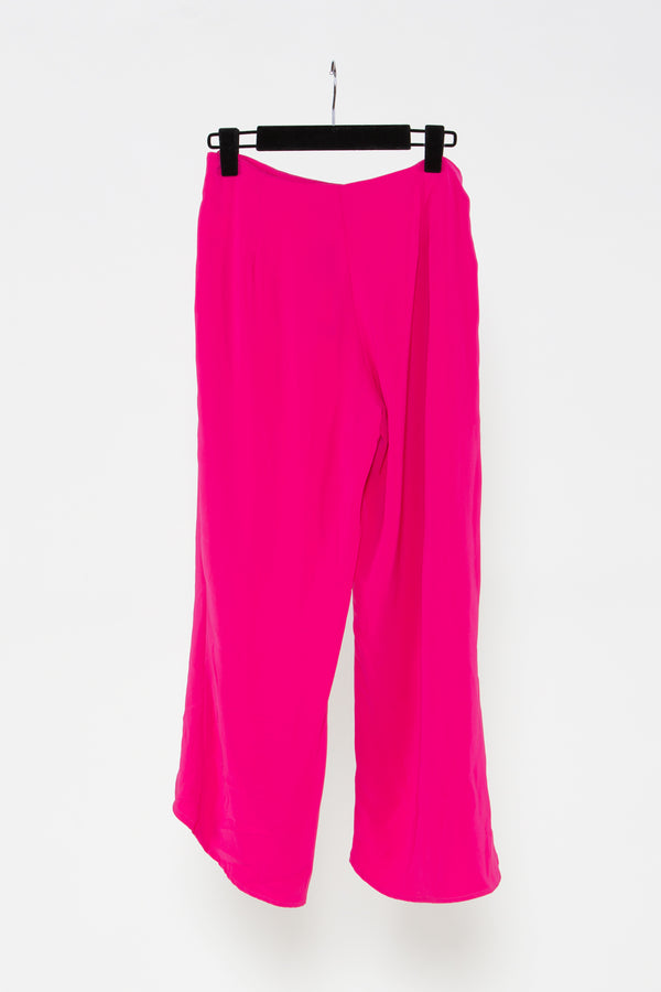Pink Layered Flowy Pants - Shop Beulah Style