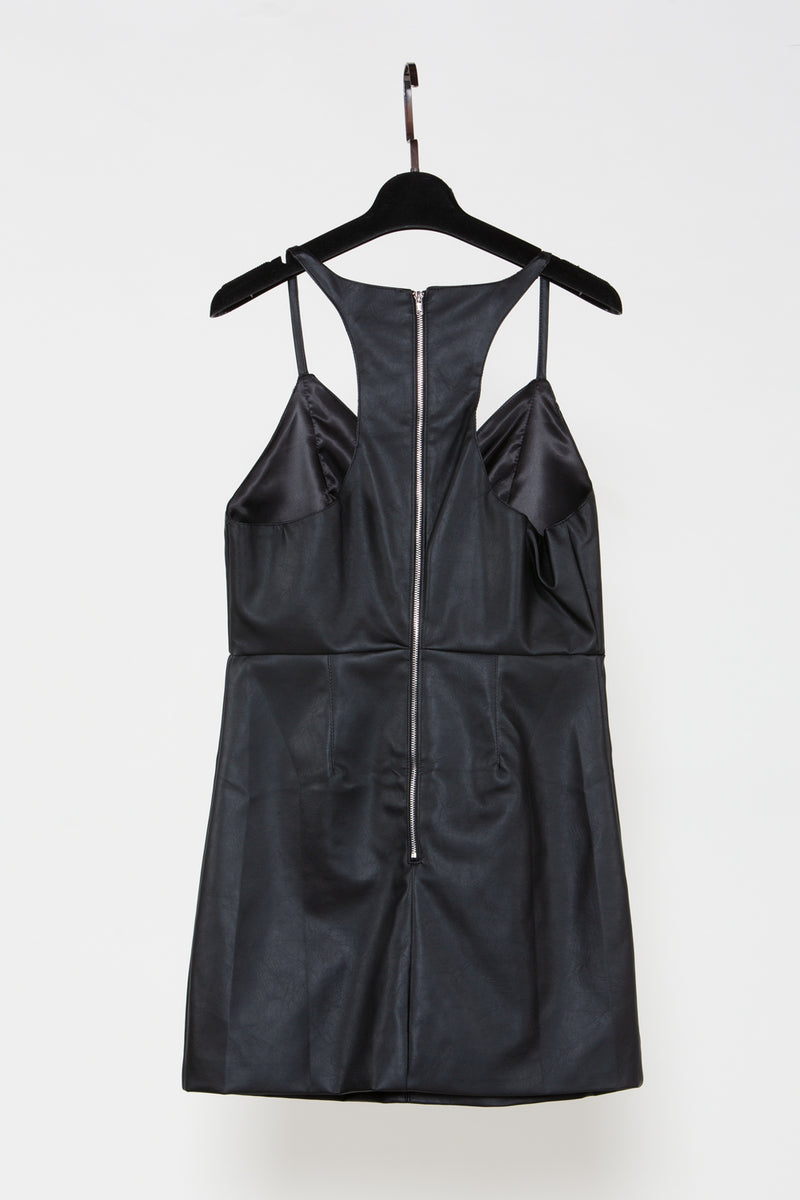Camisole Black Mini Dress - Shop Beulah Style