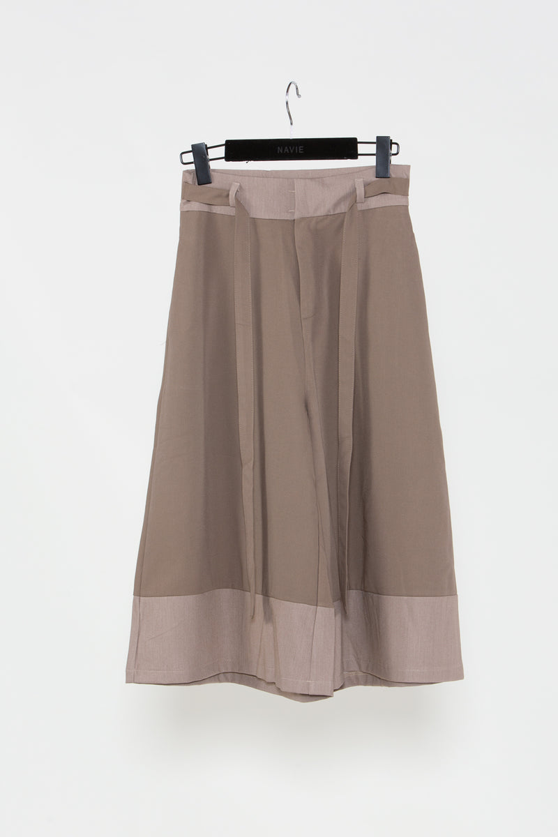 Gathered Straight Midi Skirt - Shop Beulah Style