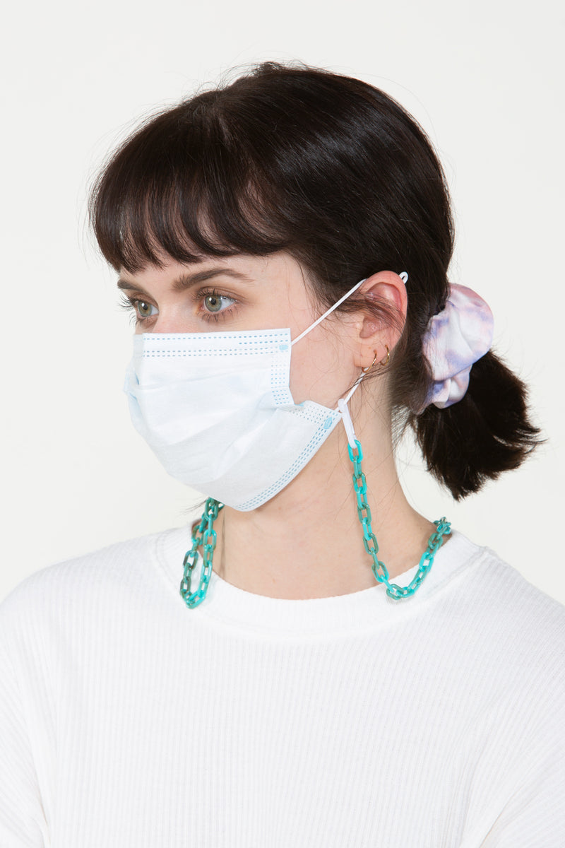 Vegan Leather Mask Chain - Shop Beulah Style