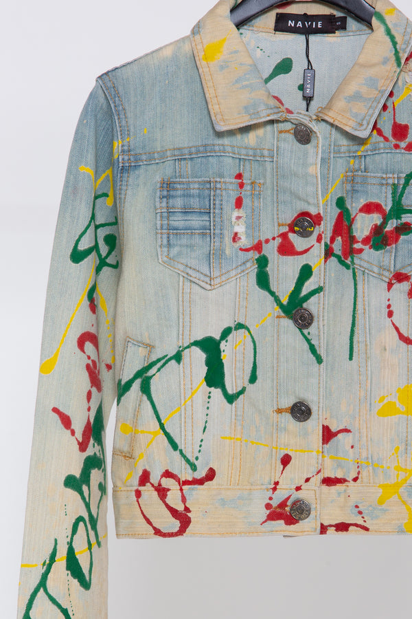 Artist Denim Jacket - Shop Beulah Style