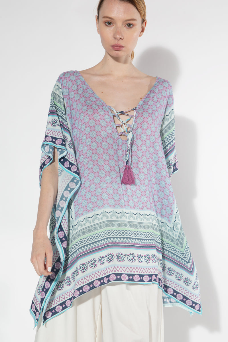 Voyage to Fiji Cover-Up - Shop Beulah Style