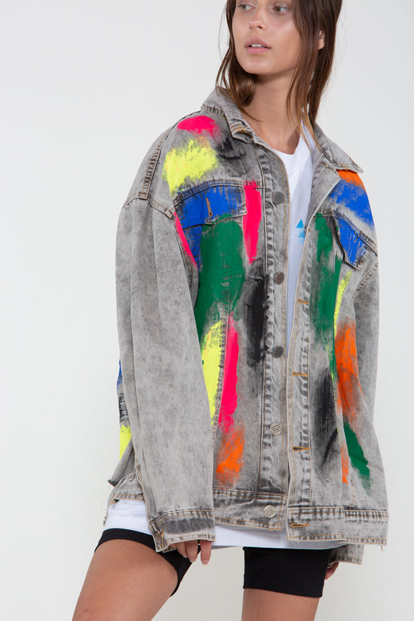 Collage Painter Jacket - Shop Beulah Style