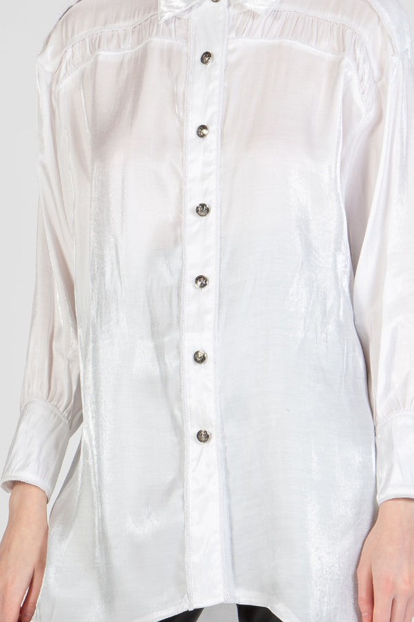Metallic Tunic Top - Shop Beulah Style