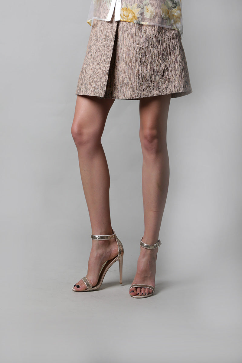Panel Round Mini Skirt - Shop Beulah Style