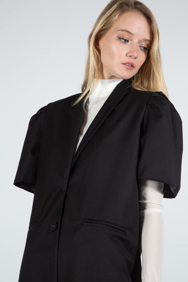 Boxy Short Sleeve Jacket - Shop Beulah Style