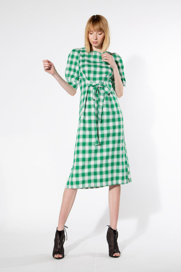 Statement Plaid Dress - Shop Beulah Style