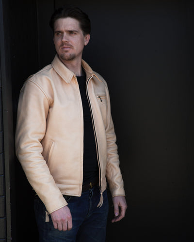 [Pre-order] S&S x Simmons Bilt Vanishing Point Horsehide Leather Jacket