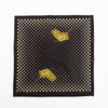 Fastcolor Selvedge Bandana - Coco Swallowtail - Black