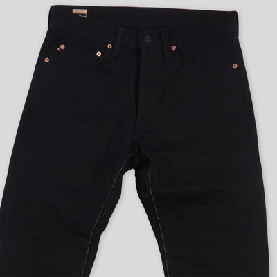 0605-B Natural Tapered Fit - 15.7oz - Black