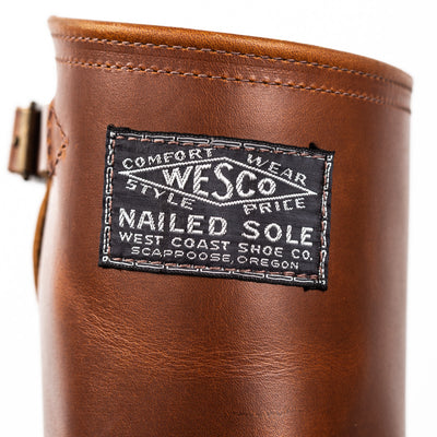 '1939' 100th Anniversary Engineer Boot - British Tan Naildown