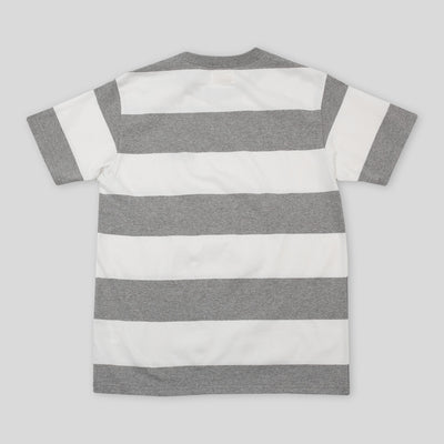 1950s Stripe Tee - Gray
