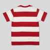 1950s Stripe Tee - Red