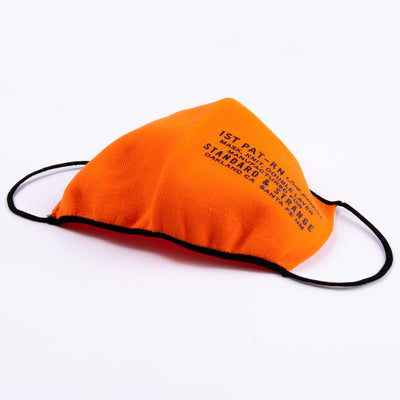 MASK, KNIT, DOUBLE LAYER - S&S ORANGE