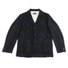 Anders Jacket - Navy Wool/Linen Check