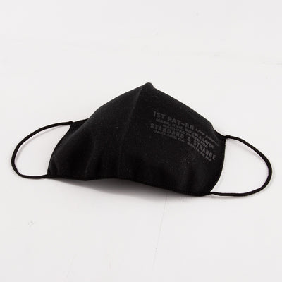 MASK, KNIT, DOUBLE LAYER - S&S BLACK