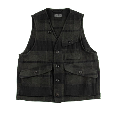 Ranger Vest - Military Wool/Linen Check