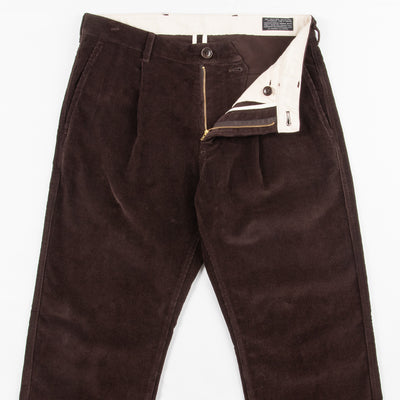 Roger Trousers - Brown Needlecord