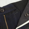 Roger Trousers - Navy Wool/Linen Check