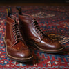 [Pre-order for June 2021 Delivery] Glover Brogues - Cognac Shinki Shell Cordovan