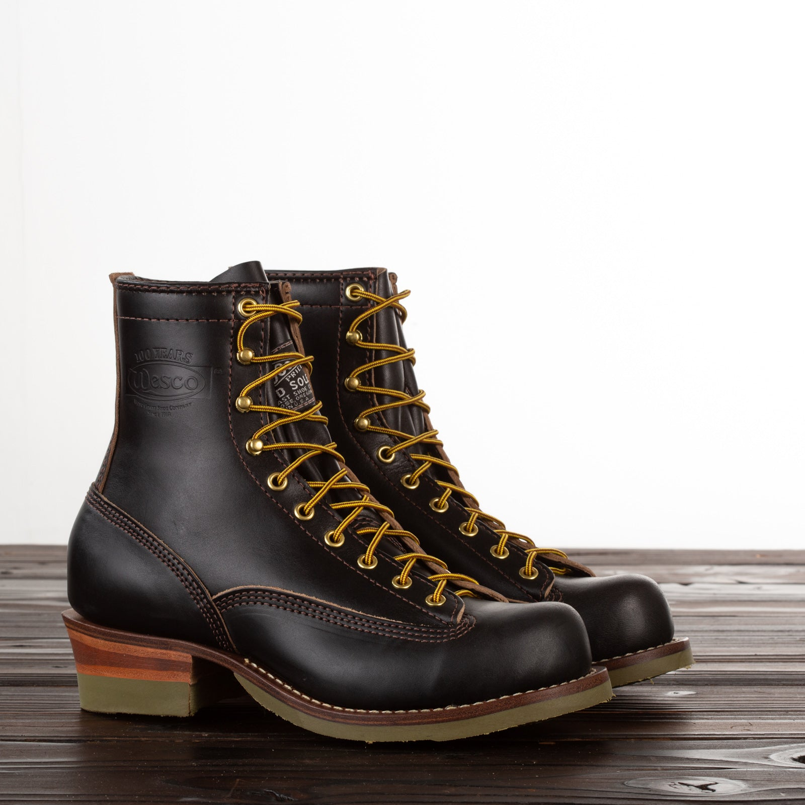 united states release info on great prices 38LTT 100th Anniversary Lace to Toe Jobmaster - Black Horsehide