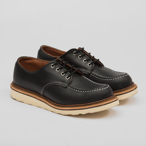 8106 Moc Toe Oxford Shoe - Black Chrome