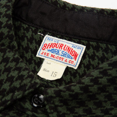 8 Hour Union Houndstooth Shirt - Green