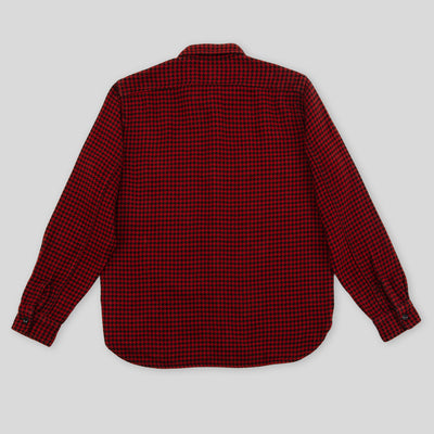 8 Hour Union Houndstooth Shirt - Red
