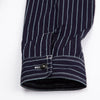 8HU Indigo Wabash Stripe Work Shirt