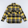 8HU Napped Flannel Shirt / Tongass Plaid - Yellow