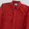 8 Hour Union Sateen Work Shirt - Red