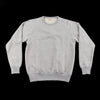 The Real McCoy's 9oz Loopwheel Raglan Sleeve Sweatshirt - Ash Gray - Standard & Strange