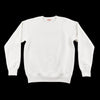 The Real McCoy's 9oz Loopwheel Raglan Sleeve Sweatshirt - Milk - Standard & Strange