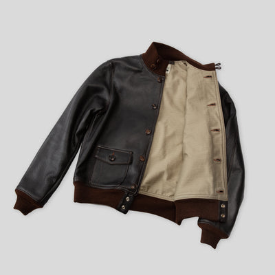 Type A-1 Deerskin Leather Jacket