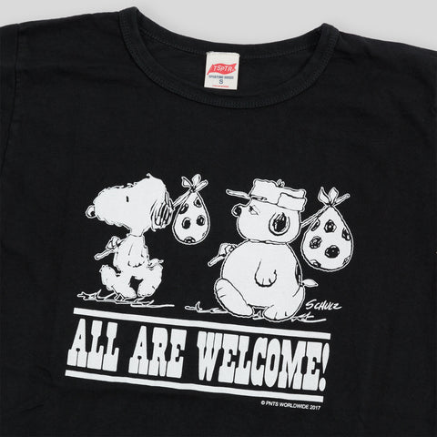 All Are Welcome Tee - Black