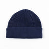 Short Merino Wool Beanie - Royal Blue