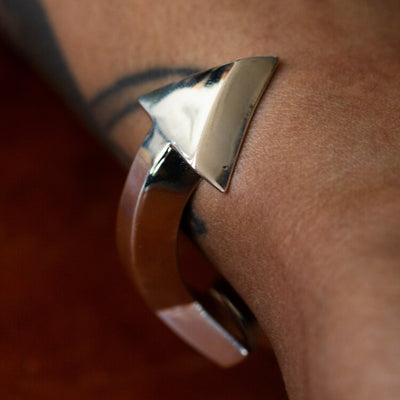 Arrow Sand Cast Cuff BR-302