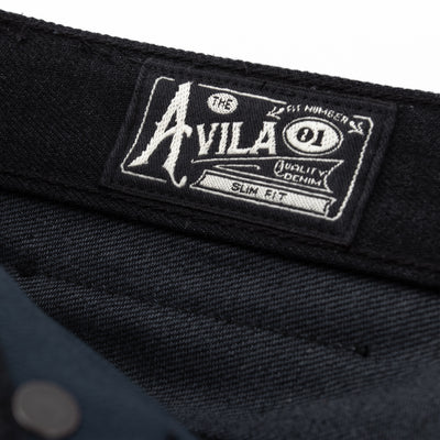 Freenote Avila Slim Taper Jean - 14.25oz Black/Gray - Standard & Strange