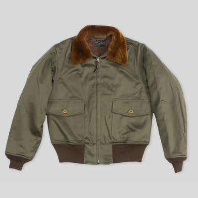 Type B-10 Jacket - Rough Wear - Olive