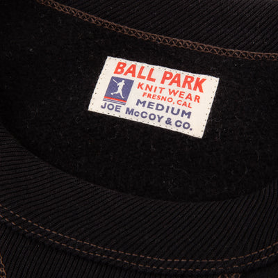 Ball Park 12oz Crewneck Sweatshirt - Black