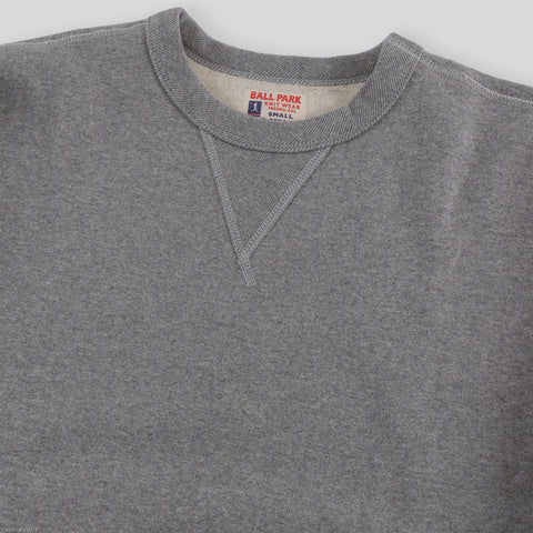 Joe McCoy Ball Park Crewneck Sweatshirt - Gray
